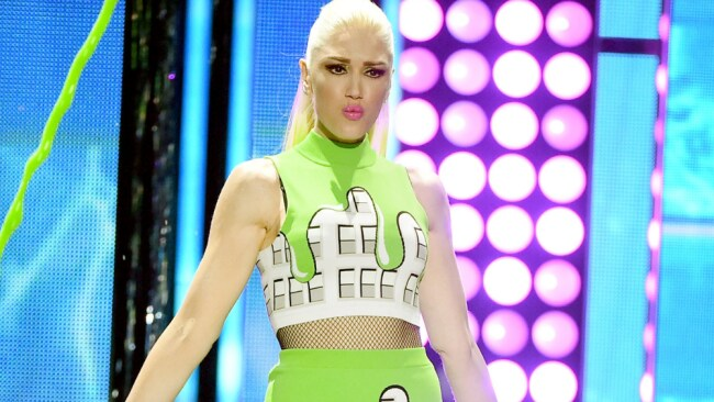Gwen Stefani. Not a woman you'll catch twiddling her thumbs too often. Source: Getty