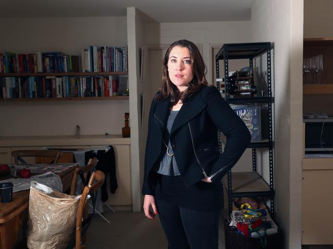 Sunday Telegraph political editor Annika Smethurst's house was raided. Picture: Gary Ramage