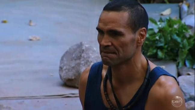 I'm a Celeb: Anthony Mundine's emotional farwell