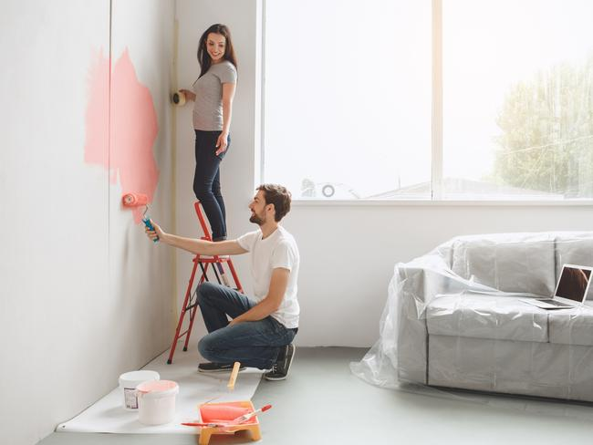 Is it time for a new coat of paint at your place? Picture: istock