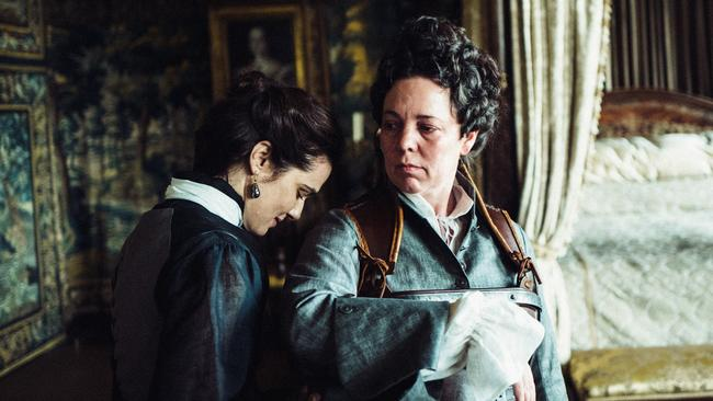 Complex female relationships fuel the drama and comedy in The Favourite