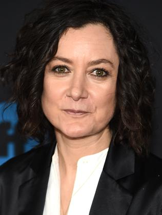 Sara Gilbert played Darlene in Roseanne. Picture: Getty Images