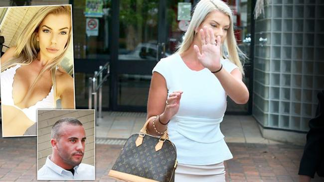 Topless waitress and her beau face court after roids sting