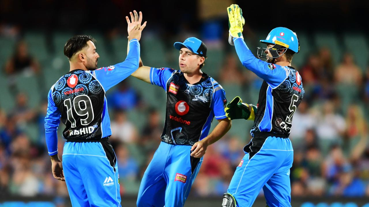 The Adelaide Strikers remain in the hunt for the BBL|09 title. Photo: Mark Brake/Getty Images.