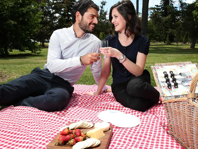 The many parks are perfect for picnics on weekend romantic getaways.