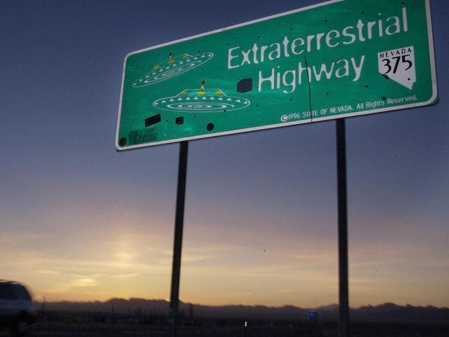 The Extraterrestrial highway was established in 1996 and runs along the eastern border of Area 51