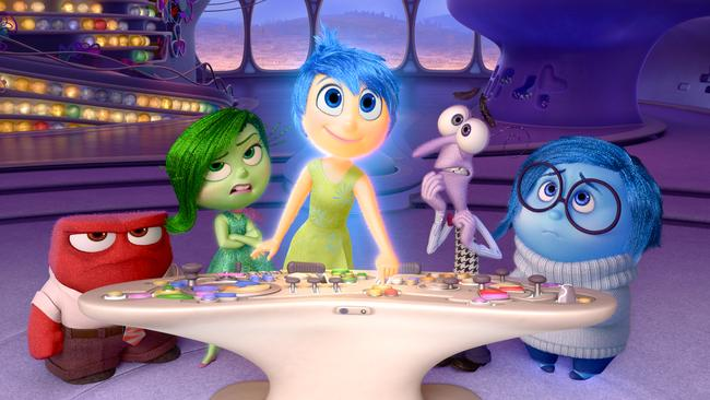 Inside Out took us inside the mind of pre-teen Riley, and followed the journey of her emotions. Picture: Supplied.
