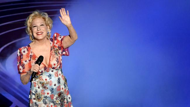 Bette Midler nailed that slightly dull song. Picture: Kevin Winter/Getty Images