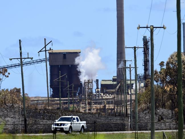 The Queensland Nickel refinery in Townsville owned by MP Clive Palmer.