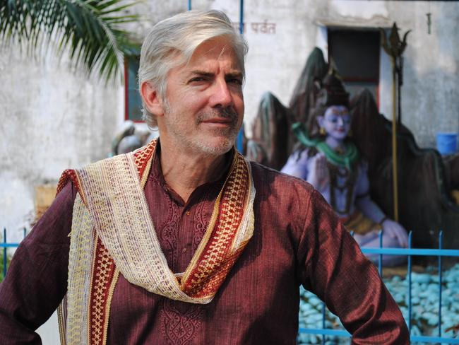 Considered priesthood as a boy ... Shaun Micallef took a dip in the Ganges by accident.