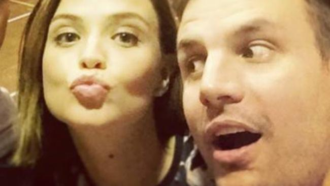 In 2015, Channel 9's Beau Ryan was accused of romantic liaisons with former Hi-5 performer Lauren Brant. Picture: Facebook