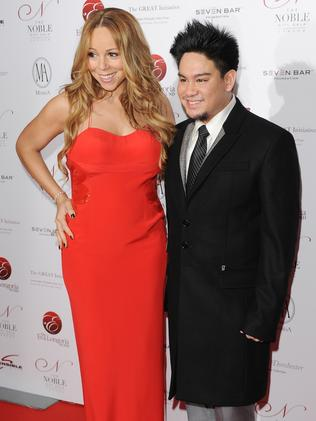 Mariah Carey and Prince Azim. Picture: Stuart Wilson/Getty Images