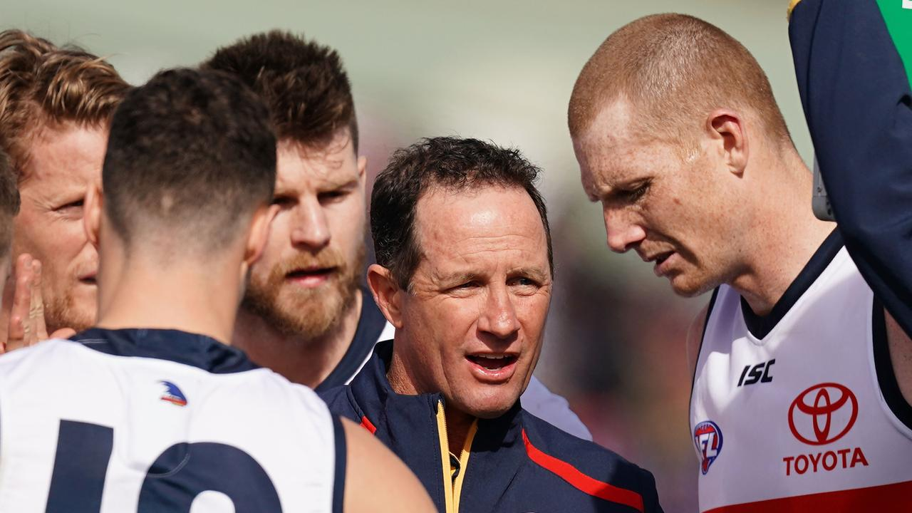 Don Pyke is under immense pressure. Photo: AAP Image/Scott Barbour