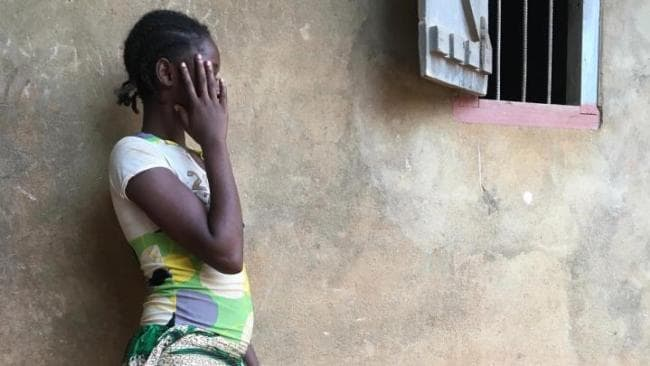 Mauricette says she was drugged and raped by peacekeepers as she walked past a checkpoint. Photo: Channel 4
