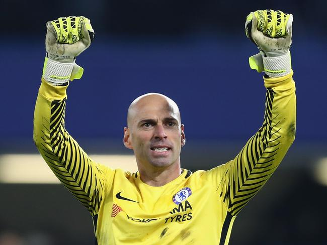 Willy Caballero. (Photo by Catherine Ivill/Getty Images)