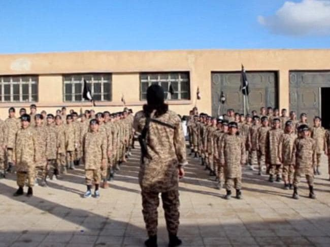 New breed ... Islamic State is training the next generation of jihadists. Picture: Supplied