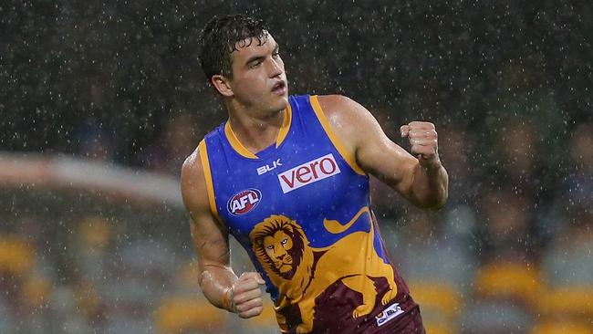 Tom Rockliff's Brisbane also thrived in the wet at the Gabba.