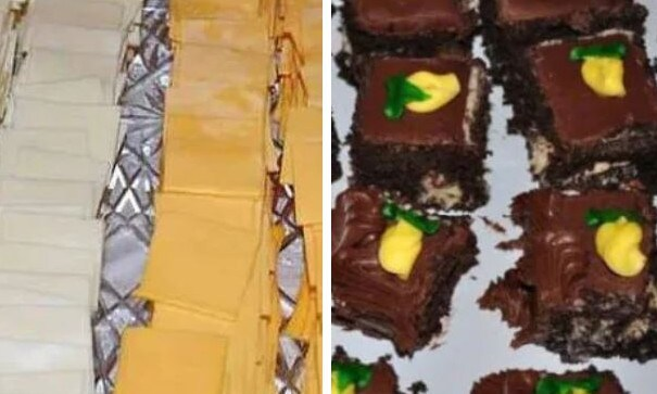 This wedding day feast was also subjected to cruel criticism. Picture: Supplied/Facebook