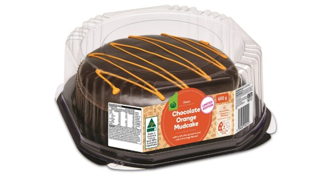 Woolies Choc Orange Mudcake. Image: Supplied