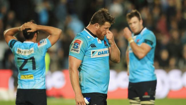 Paddy Ryan of the Waratahs after their loss to the Blues.