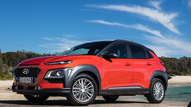 Funky looks and decent cabin space: Hyundai Kona.