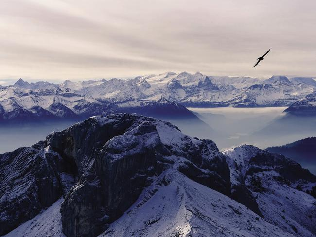 Switzerland's Mt Pilatus. Picture: Emily Torning