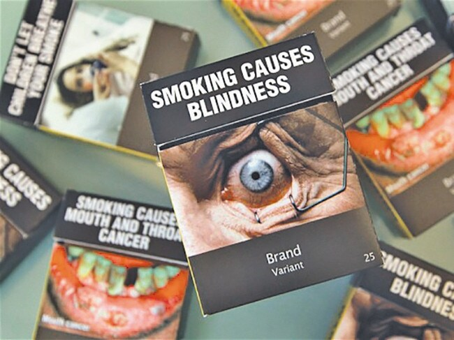 "Labor's health spokeswoman Catherine King said it had already ""stood up to Big Tobacco"" through its plain packaging legislation. Picture: Alan Pryke"