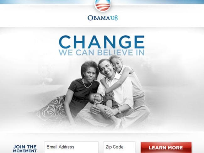 The cleverly chosen image that raised $60 million for Barack Obama's presidential campaign.