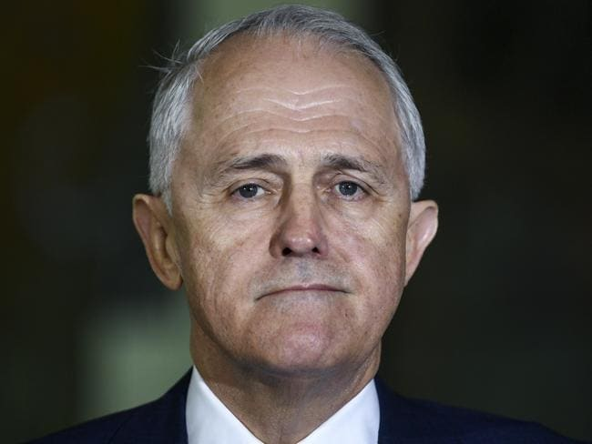 Mr Turnbull has gutted two of his own signature policies in the last 24 hours in an effort to save himself. Picture: Lukas Coch/AAP