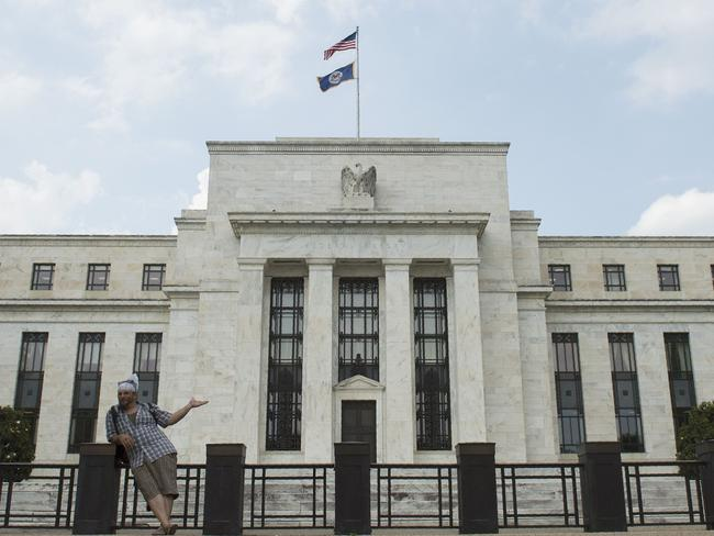 The US Federal Reserve has raised interest rates. Picture: Andrew Caballero-Reynolds