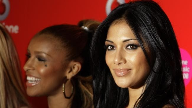 Thornton (left) and Nicole Scherzinger (right) in 2008.