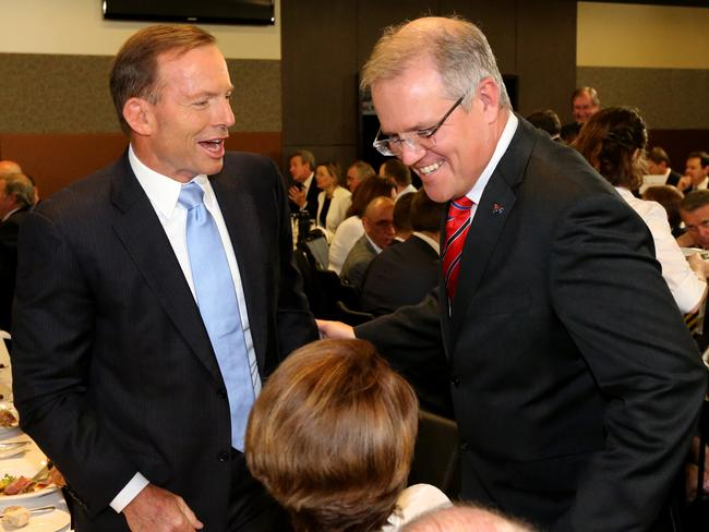 Loyal MP ... Scott Morrison has also pledged his commitment to the Prime Minister.
