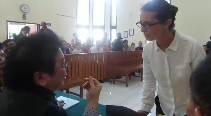Sara Connor in Denpasar court pleads her innocence