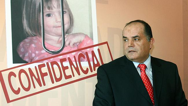 Goncalo Amaral originally led the investigation into Maddie's disappearance in Portugal. AFP/Joao Cortesao