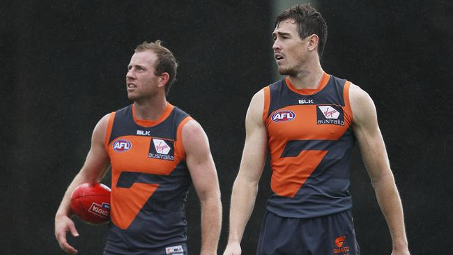 GWS Giants dream team forward line finally on the park ...
