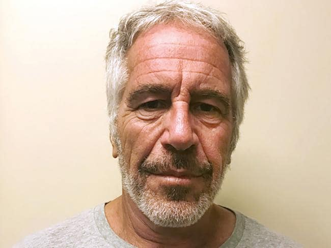 Jeffrey Epstein killed himself in his New York jail cell. Picture: New York State Sex Offender Registry via AP