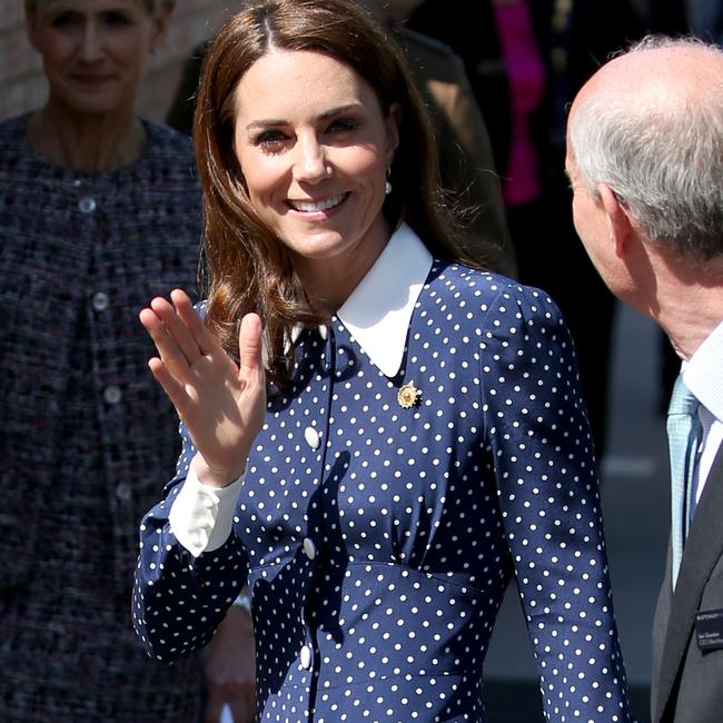 Kate was busy this week at official events. Picture: Matrix