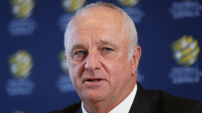 Graham Arnold says Australia's goalscoring woes can be solved mentally.
