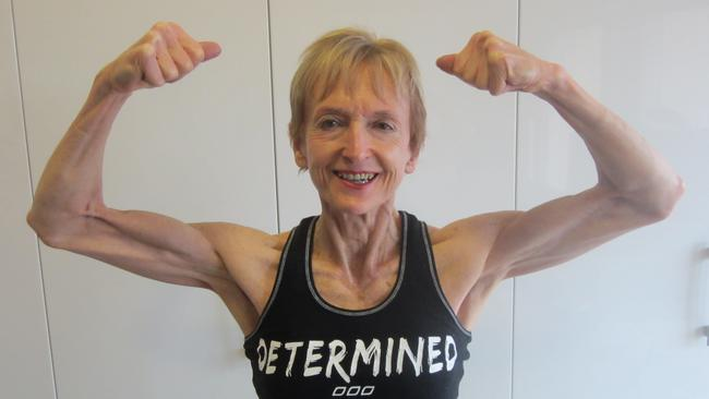 Janice was training twice a week when she first started at the gym, now she trains seven days a week, rotating weights with cardio.