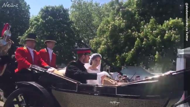 Meghan Markle spots old drama teacher in crowd after wedding