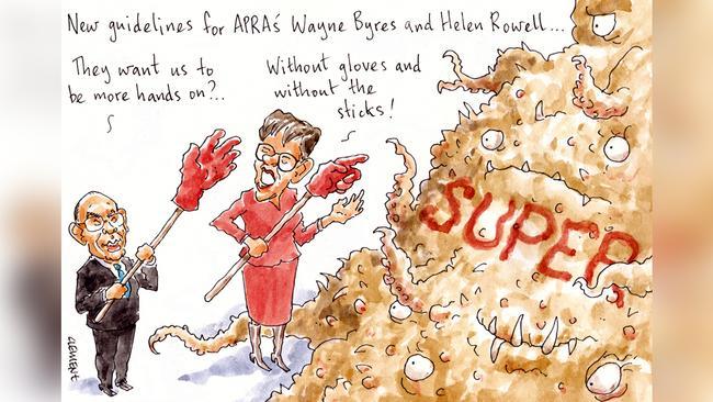 Cartoon: Rod Clement.
