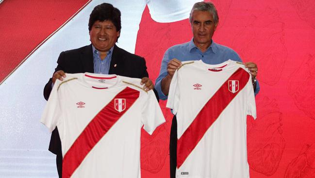 Peru's World Cup home kit