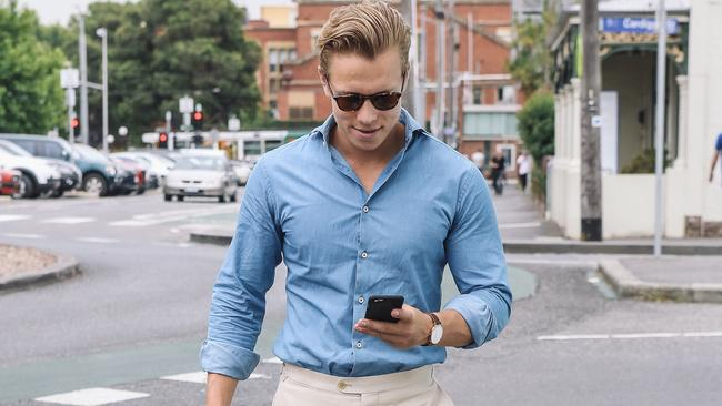 On the (shopping) run: men have seriously discovered the joys of online purchasing.