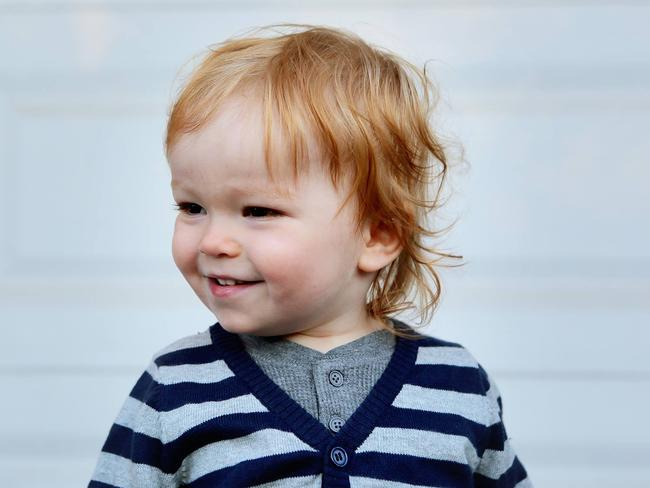 Jude was just two when he died from the flu. Picture: Jill Promoli McGee