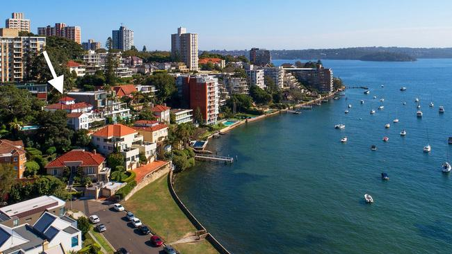 Police arrested a 36-year-old man at Darling Point.