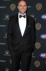 Chris Judd on the red carpet at the 2019 Brownlow Medal ceremony. Picture: Mark Stewart