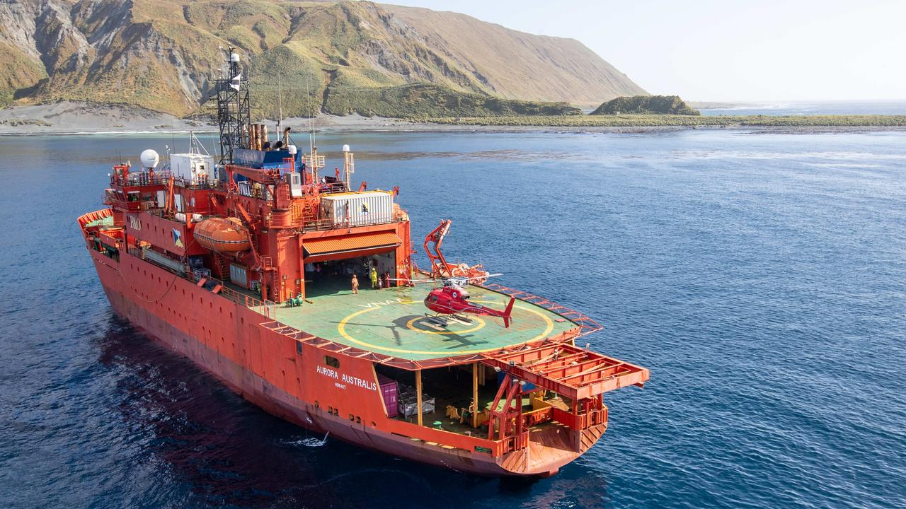Make Aurora Australis icebreaker an emergency vessel'