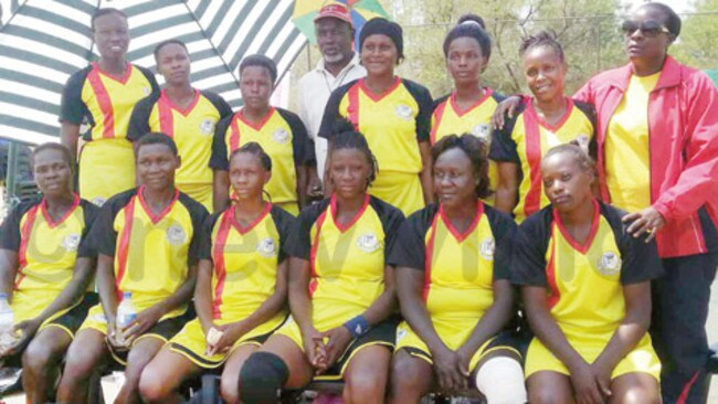 The She Cranes at last year's African Netball Championships.