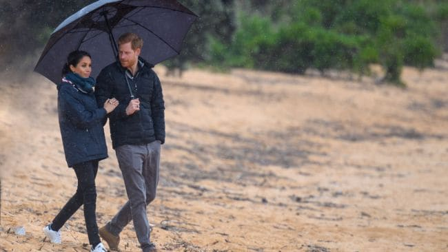 New Zealand really turned on the weather for the royals. Source: Getty Images