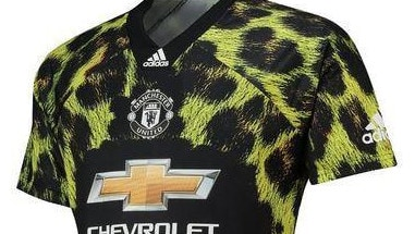 70aa66c59 EPL news  Manchester United leopard kit